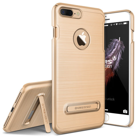 VRS Design [Simpli Lite Series] Apple iPhone 7 Plus Case - Champagne Gold - Main