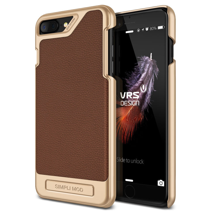VRS Design [Simpli Mod Series] iPhone 7 Plus Case - Brown