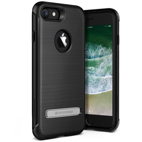 VRS Design | iPhone 8 Case Duo Guard - Metallic Black