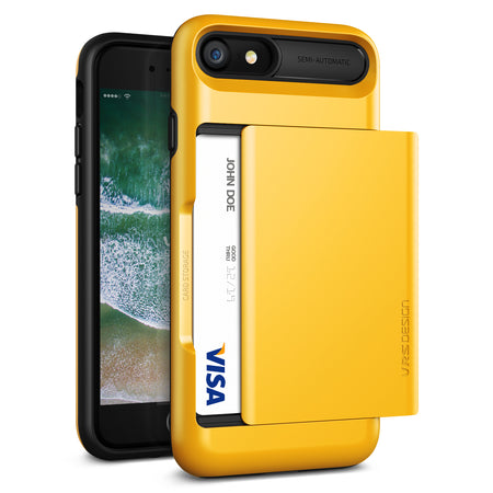 VRS Design [Damda Glide Series] Apple iPhone 7 Case - Indie Yellow - Main