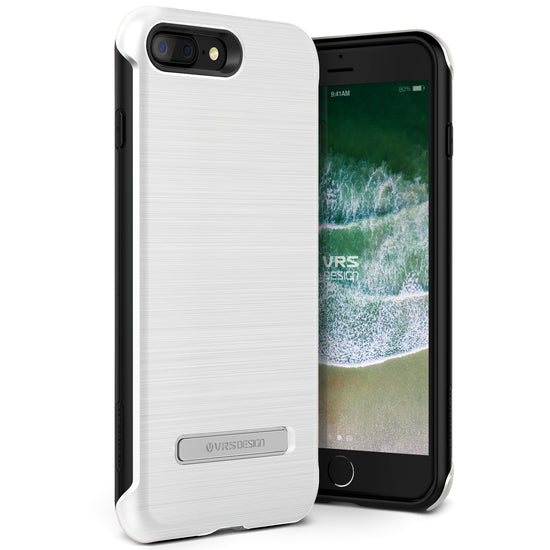 VRS Design [Duo Guard Series] Apple iPhone 8 Plus Case - White - Main