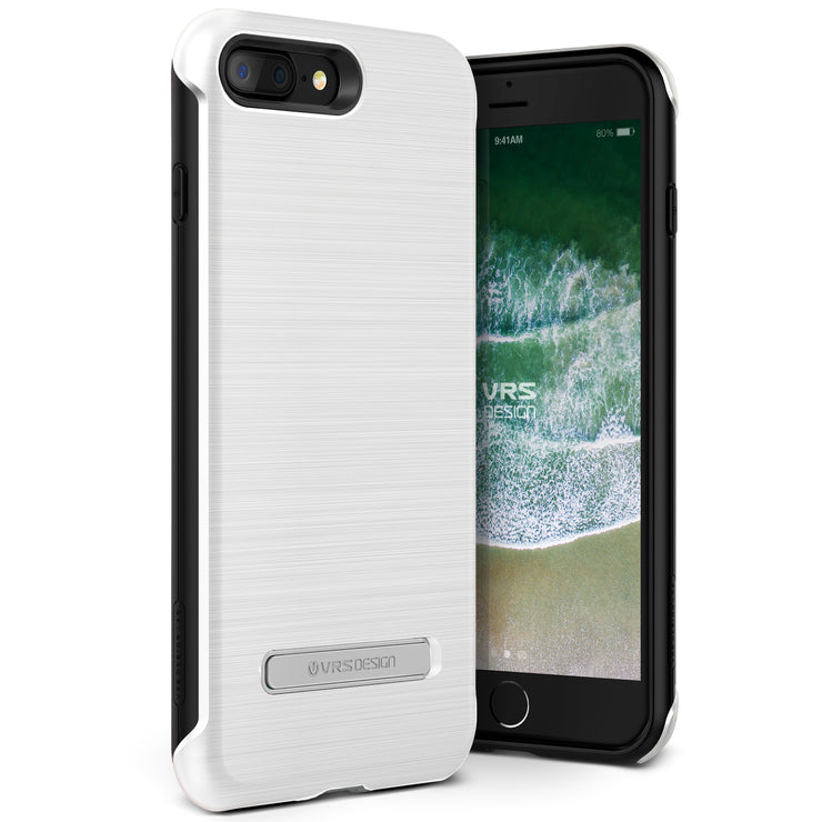 VRS Design [Duo Guard Series] Apple iPhone 8 Plus Case - White