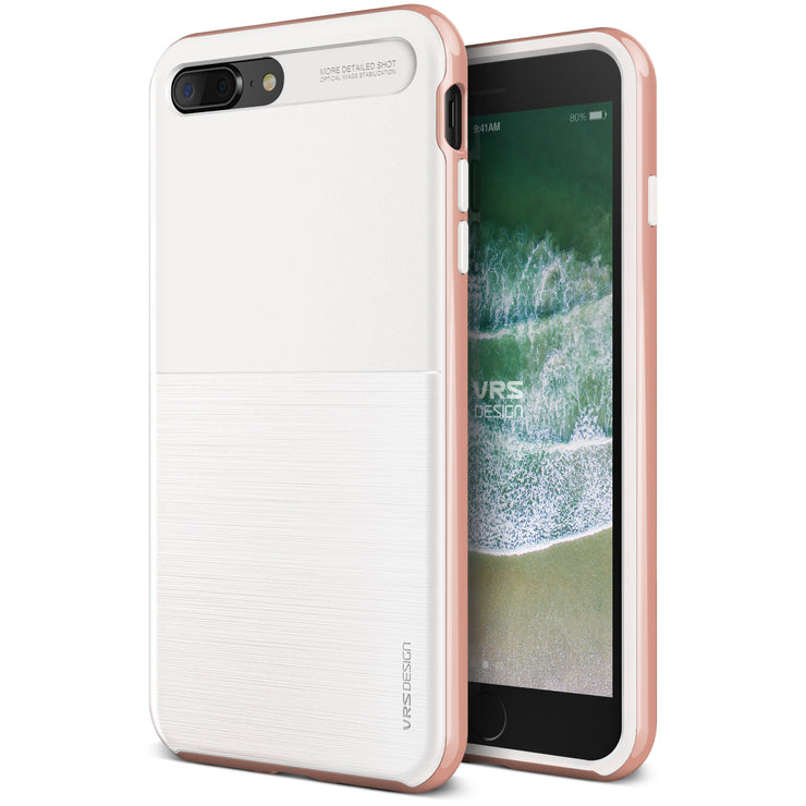 VRS Design  High Pro Shield Series  Apple iPhone 7s Plus Case - white Rose 9cea511b35