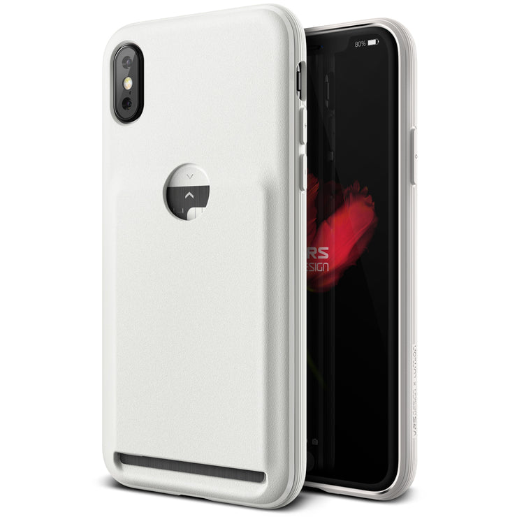 VRS Design | Damda Fit Case for iPhone X / XS - Light Pebble