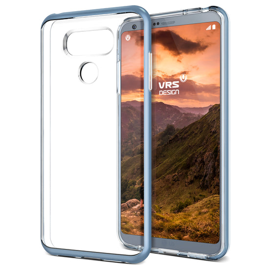 VRS Design | Crystal Bumper Case for LG G6 - Blue Mist