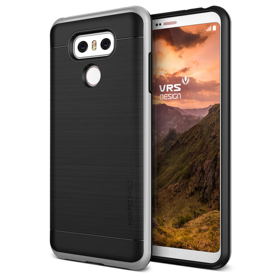VRS Design | High Pro Shield Case for LG G6 - Satin Silver