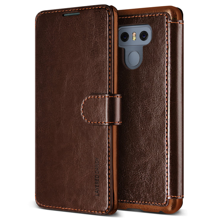 VRS Design | Layered Dandy Case for LG G6 - Coffee Brown