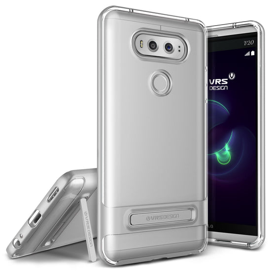 VRS Design [Crystal Bumper Series] LG V20 Case - Satin Silver