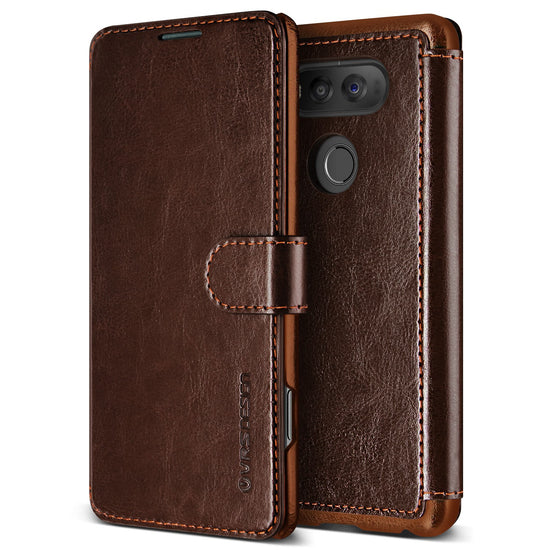 VRS Design [Layered Dandy Series] LG V20 Case - Coffee Brown