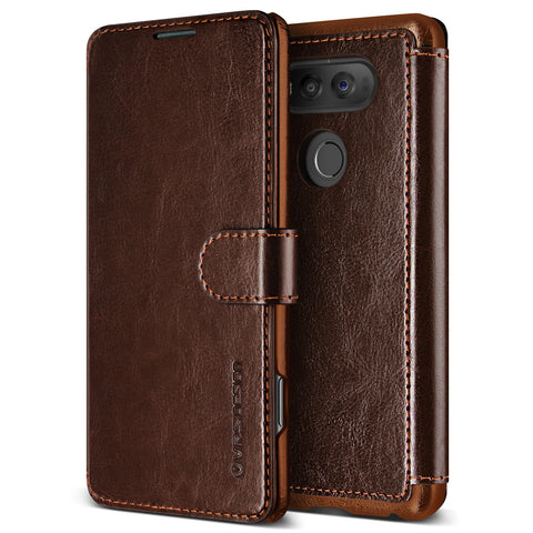 VRS Design [Layered Dandy Series] LG V20 Case - Coffee Brown - Main