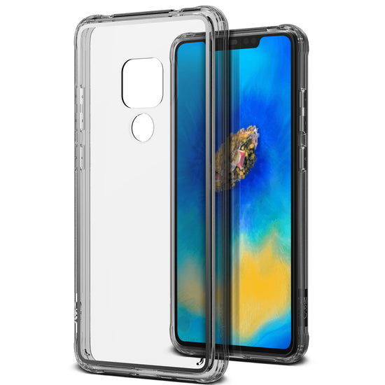 VRS Design | Huawei Mate 20 Case Crystal Chrome Series - Clear