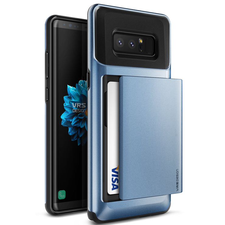 VRS Design | Damda Glide Case for Galaxy Note 8 - Blue Coral