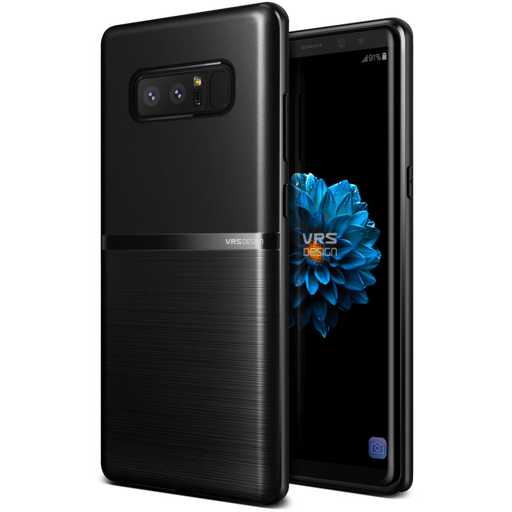 VRS Design | Single Fit Case for Galaxy Note 8 - Black