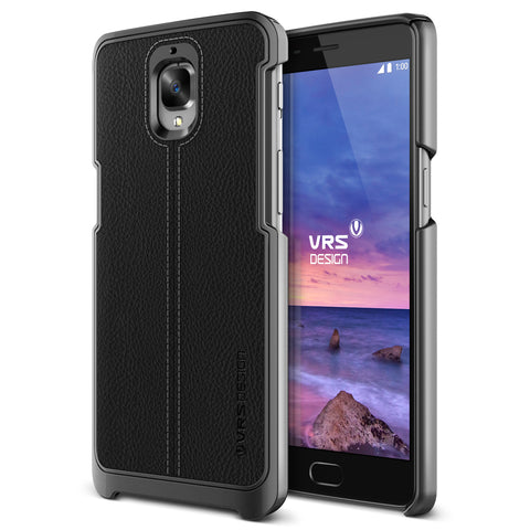 VRS Design [Simpli Mod Series] OnePlus 3T Case - Black - Main