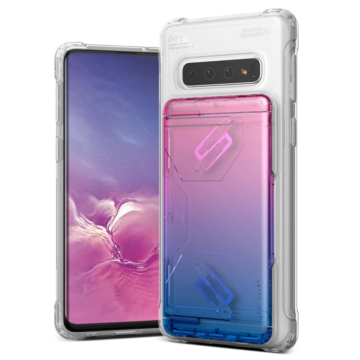 Galaxy S10 Case Damda Glide Shield Clear TPU