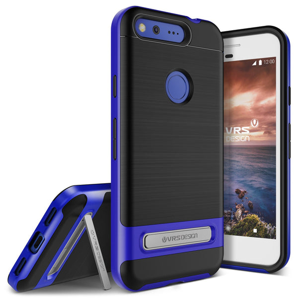 VRS Design [High Pro Shield Series] Pixel Case - Really Blue - Main
