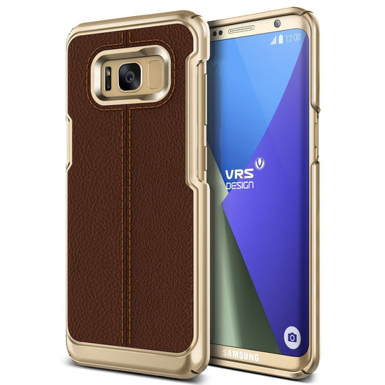 VRS Design | Simpli Mod Case for Galaxy S8 - Brown