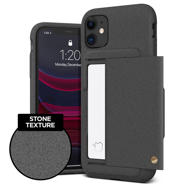 iPhone 11 Case Damda Glide Shield Sand Stone