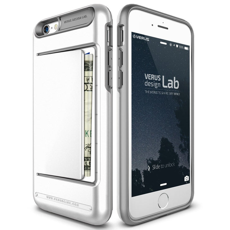VRS Design [Damda Clip Series] Apple iPhone 6/6s Case - White