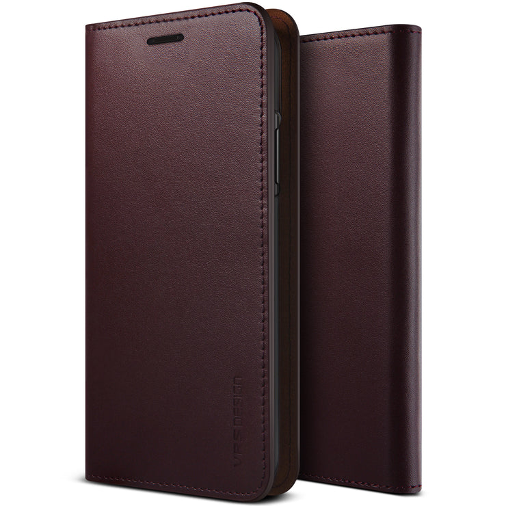 iPhone 11 Pro Max Case Genuine Leather Diary