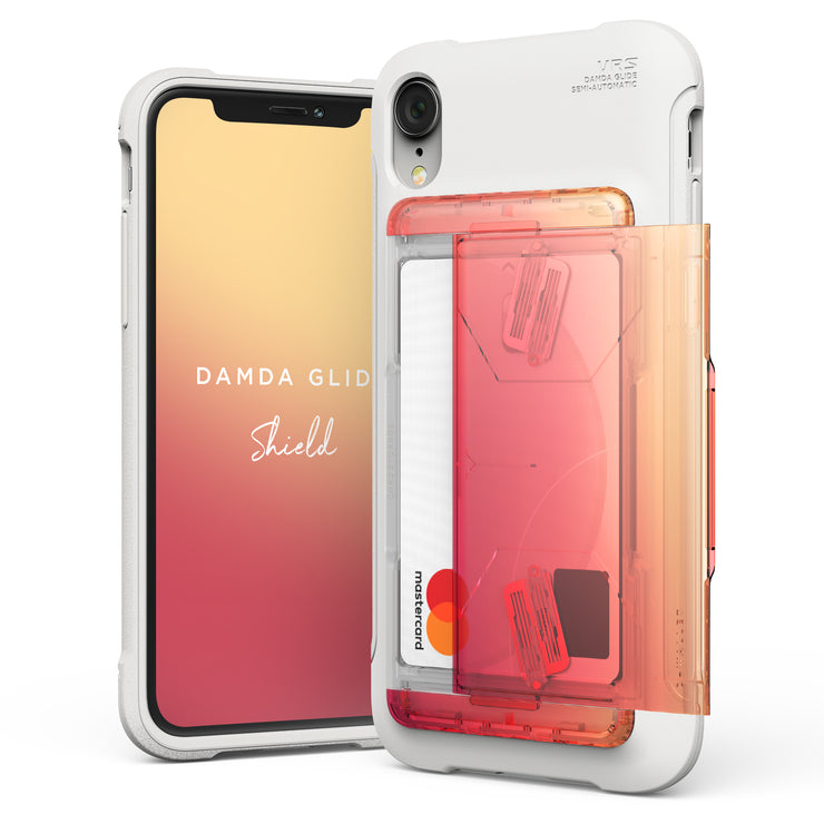 VRS Design | Apple iPhone XR Case Damda Glide Shield series - Yellow Peach
