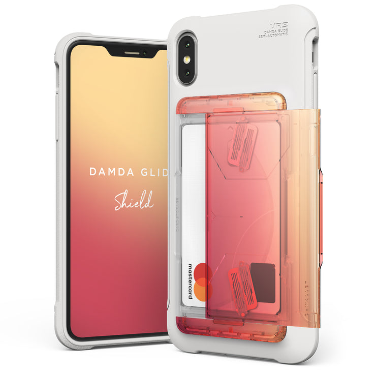VRS Design | Apple iPhone Xs Max Case Damda Glide Shield series - Yellow Peach