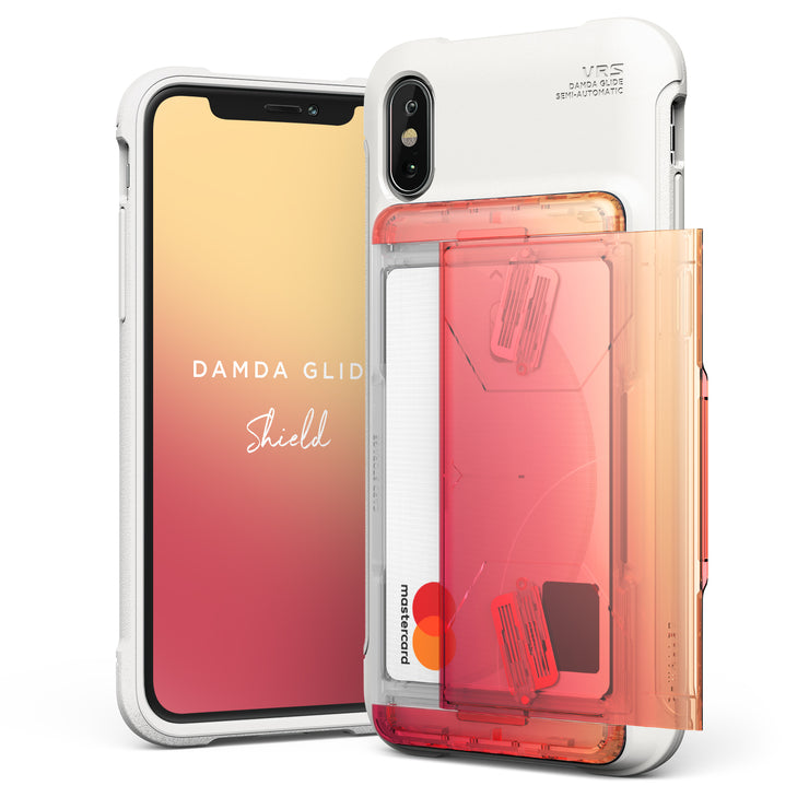 VRS Design | Apple iPhone Xs Case Damda Glide Shield series - Yellow Peach