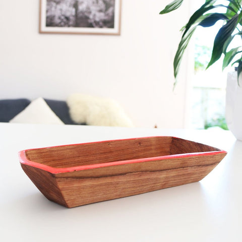 Hex Tray - Red