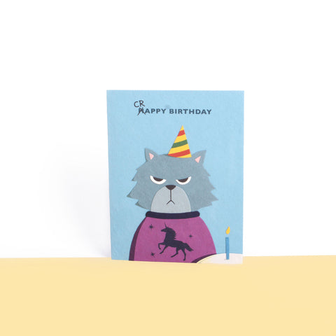 Good-Paper-Grumpy-Kitty-Card