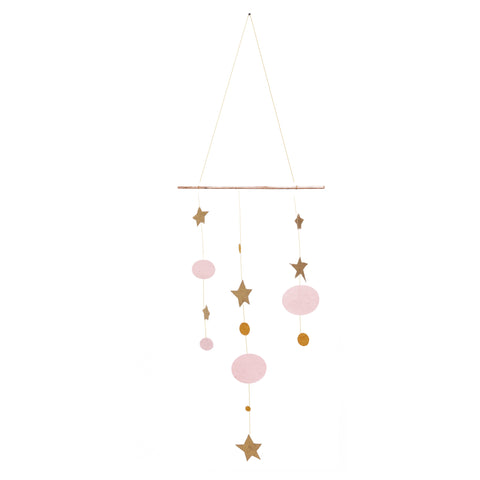 Hanging Starlight Mobile - Rose