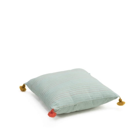 Muskhane-cotton-cushion-covers-with-pompoms-jade