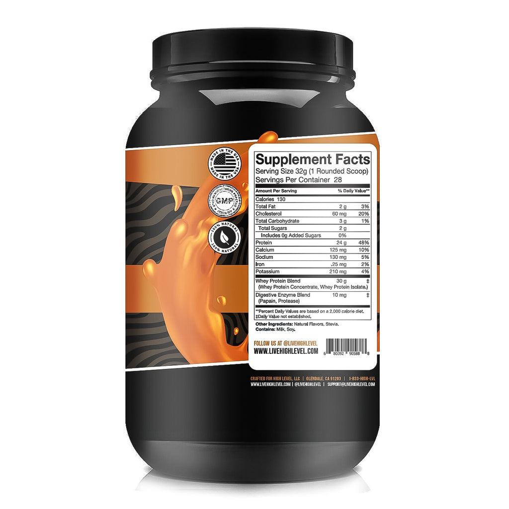 NATURAL WHEY PROTEIN [SALTED CARAMEL]