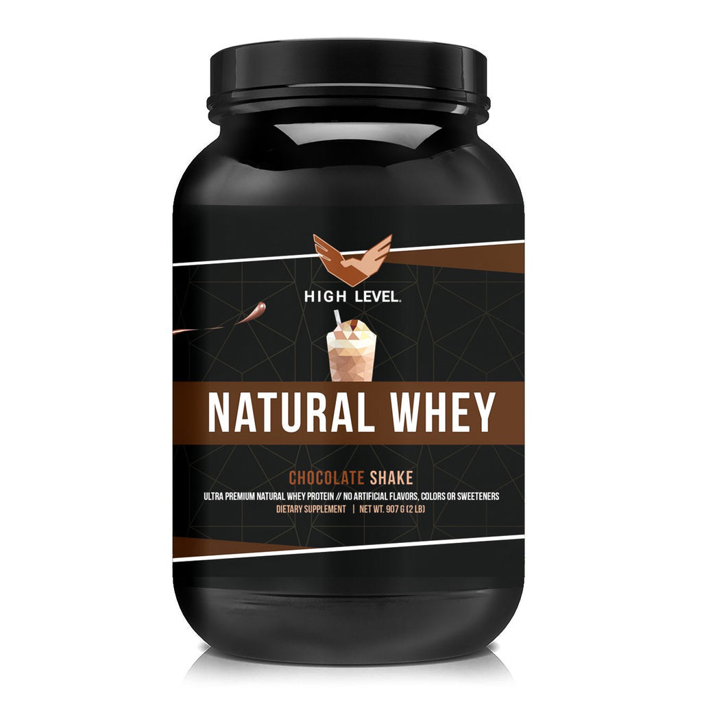 Natural Chocolate Shake Whey Protein - 2LB