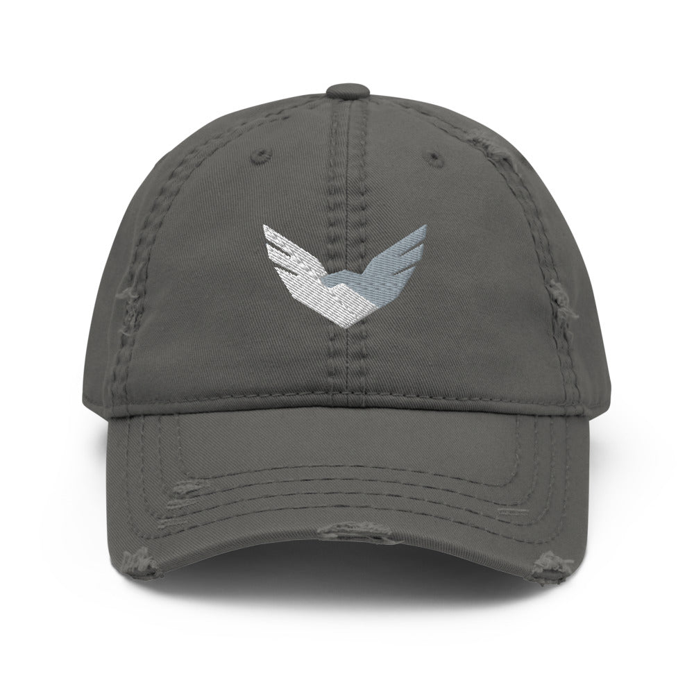 Distressed High Level Performance Academy 'Squad' Dad Hat