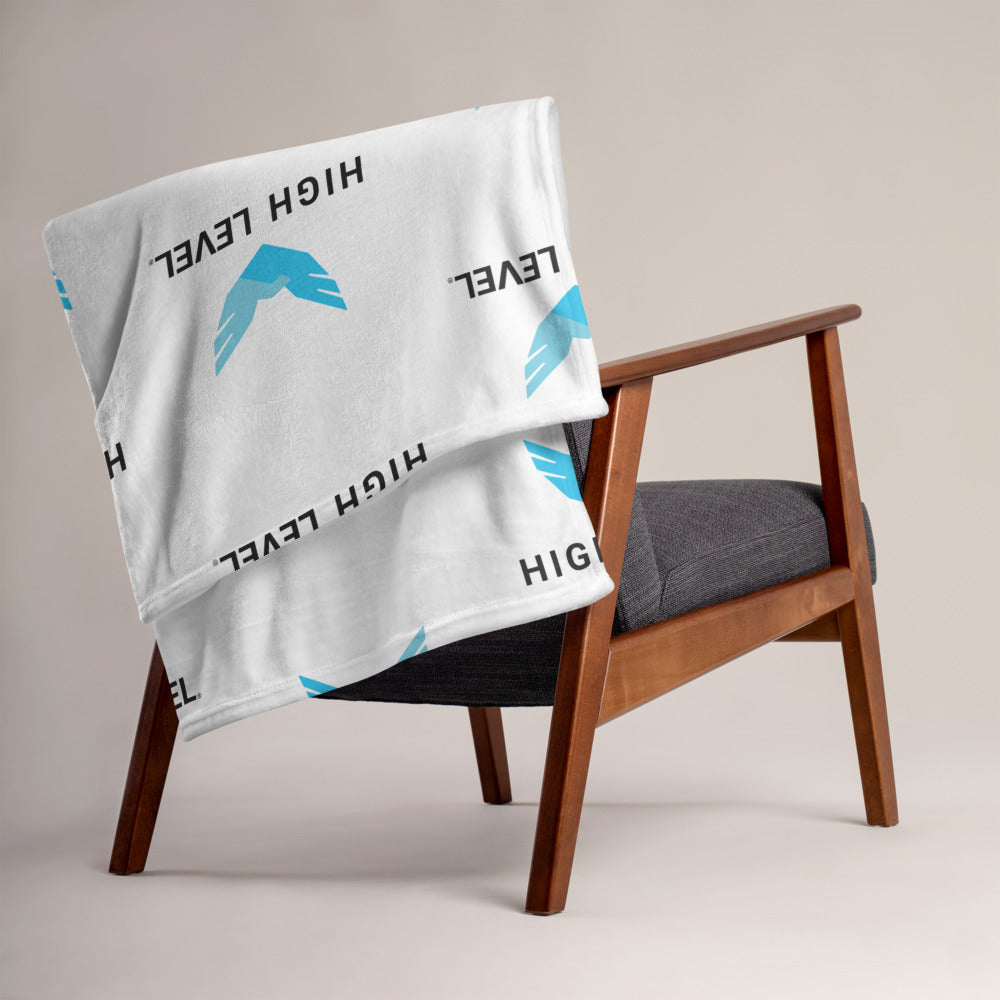 High Level Logo Throw Blanket