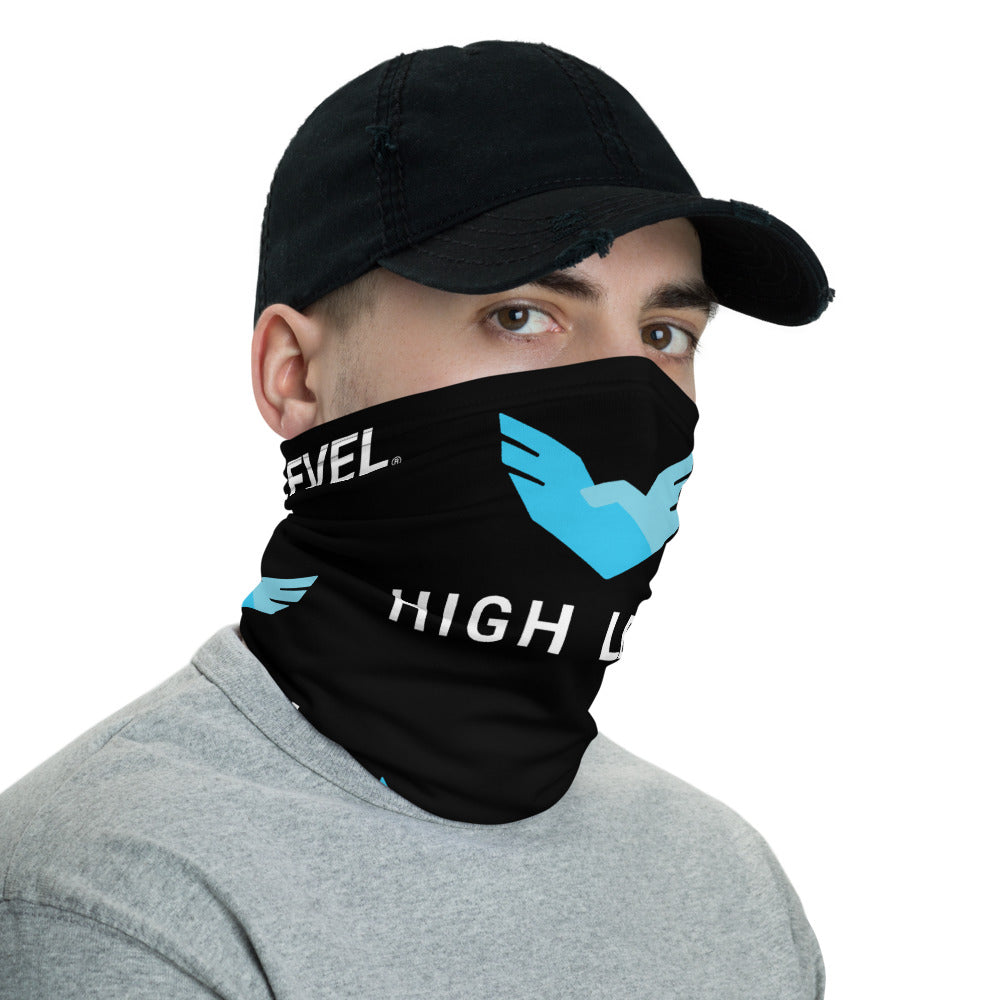 High Level Face Covering (Black)