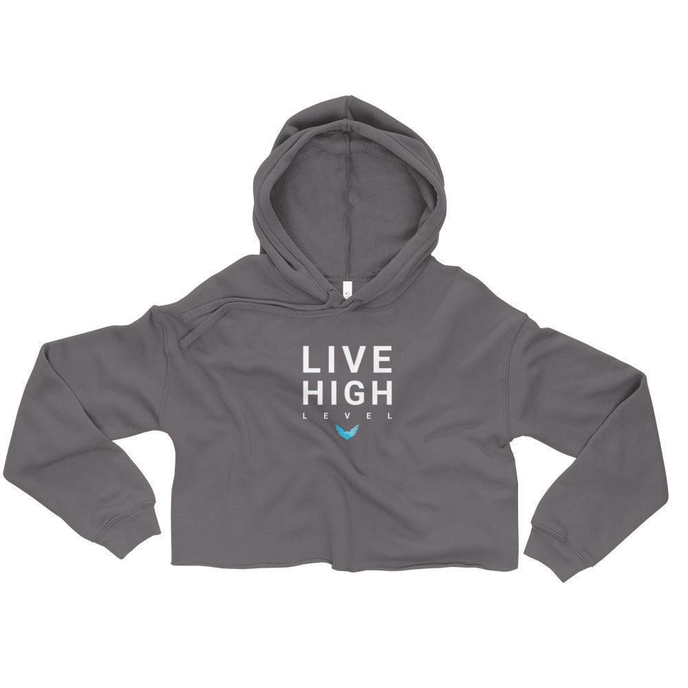 Live High Level Women's Fleece Crop Hoodie