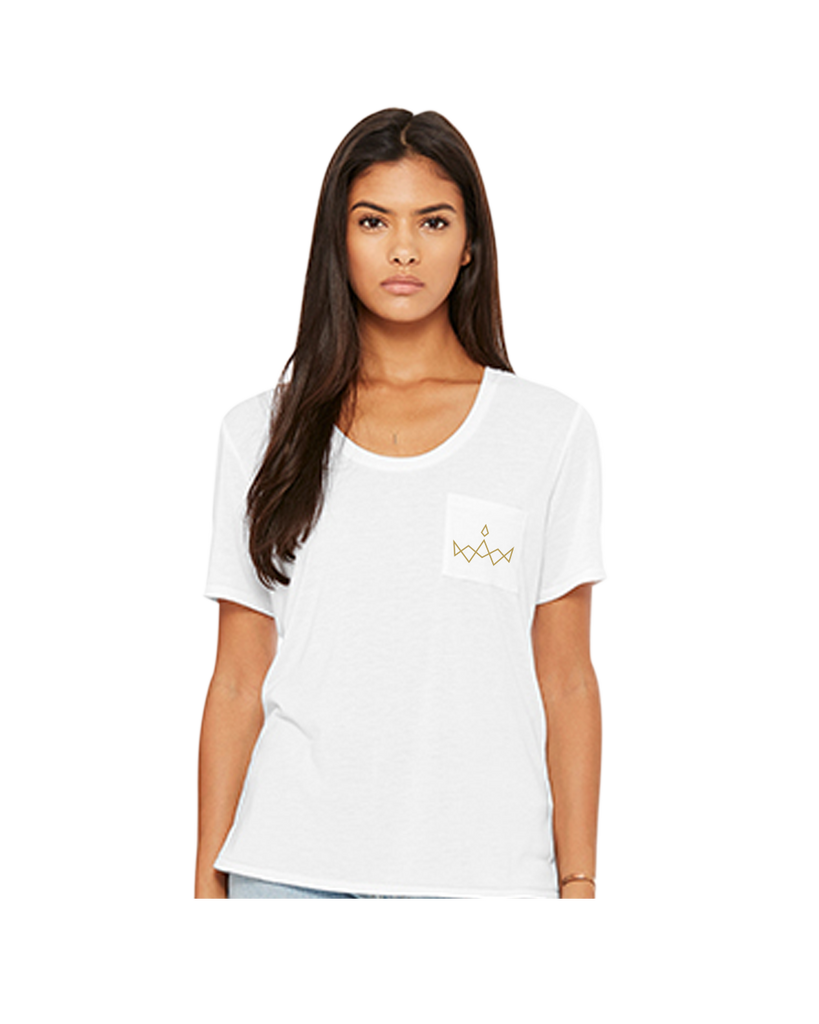 Women's Flowy Pocket Tee