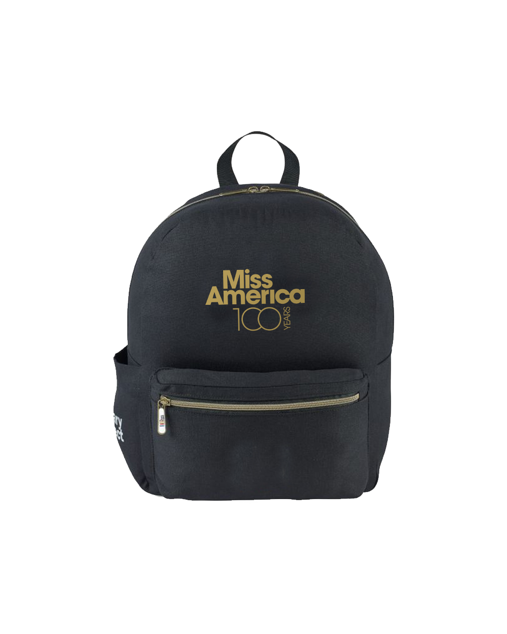 MA 100th Cotton Backpack Black