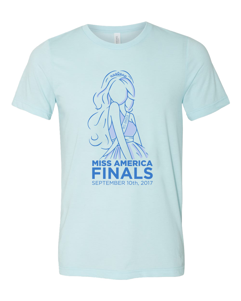 2018 Finals Unisex Light Blue Tee