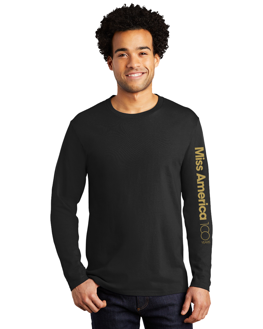 MA 100th Long Sleeve Tee - Black