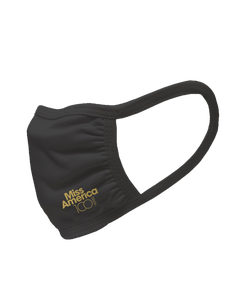MA 100th 3 Ply Mask - Black