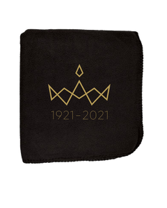 MA 1921 - 2020 Fleece Blanket - Black
