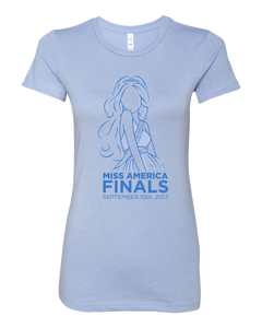 2018 Finals Ladies Blue Tee