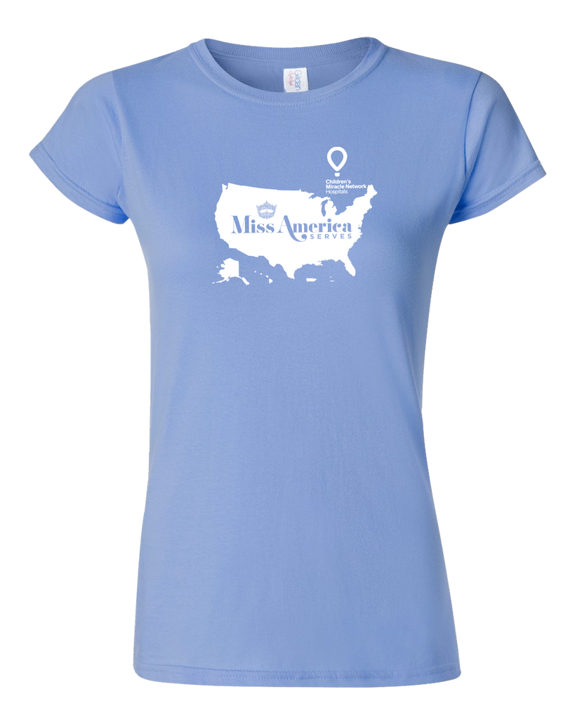 Miss America Serves 2017 Ladies T-Shirt