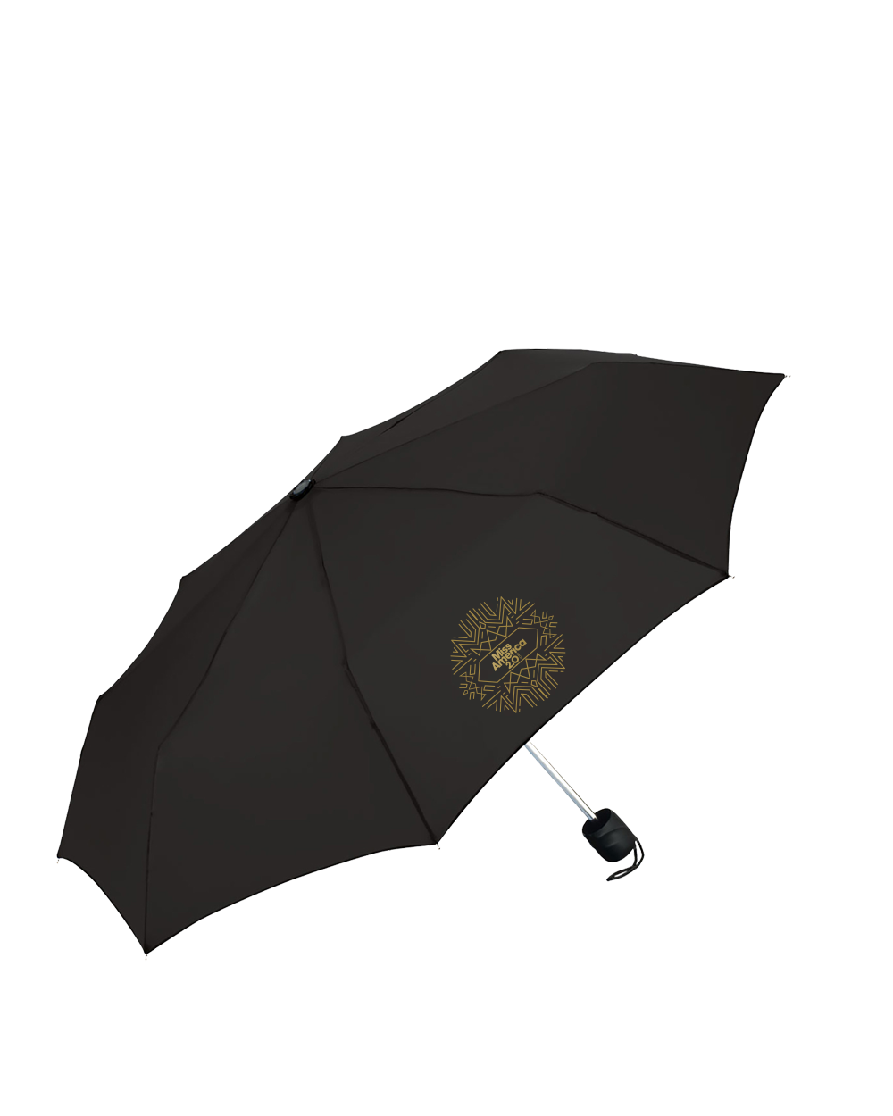Art Deco Mini Compact Umbrella