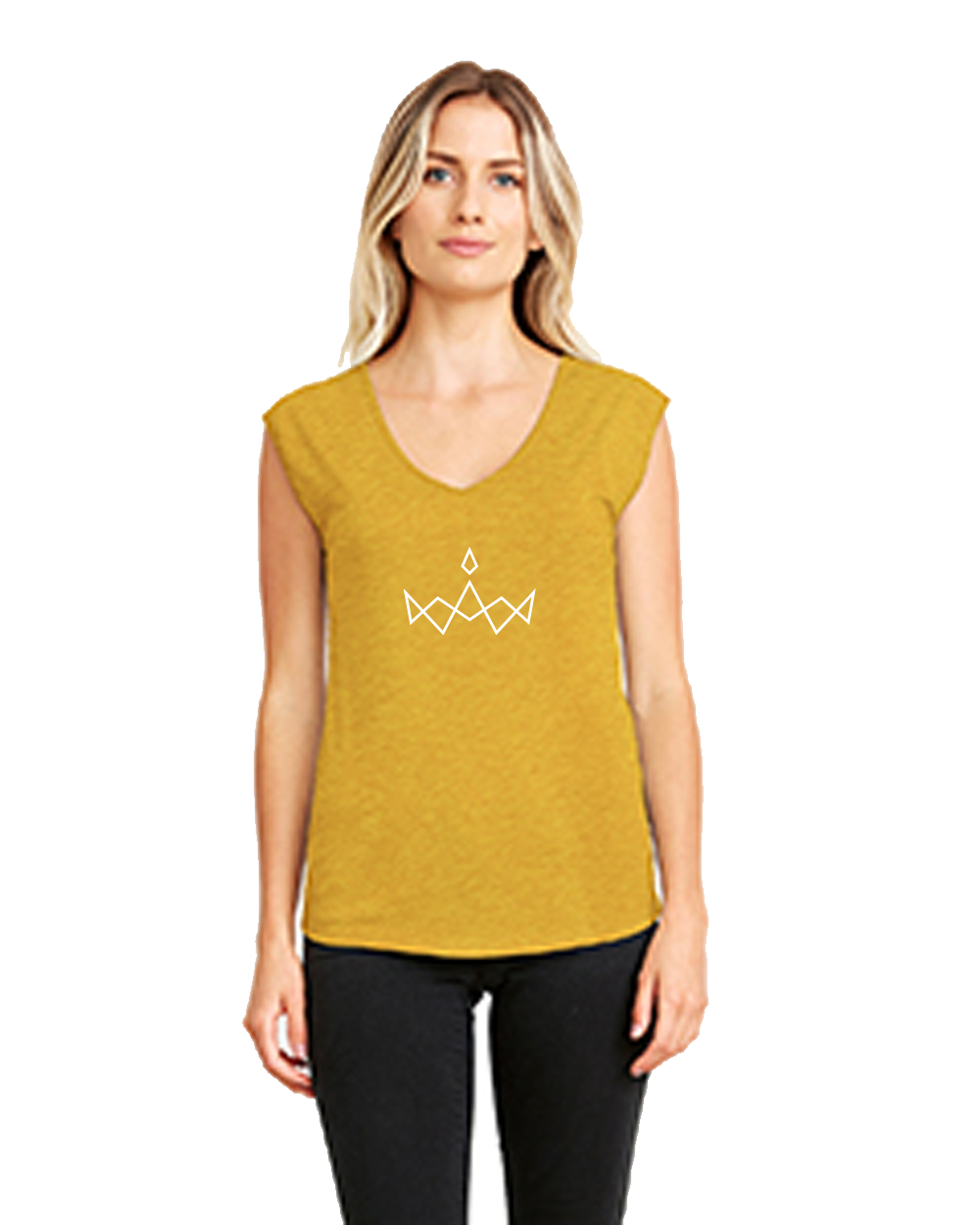 2018 Crown Women's Festival Sleeveless V-Neck