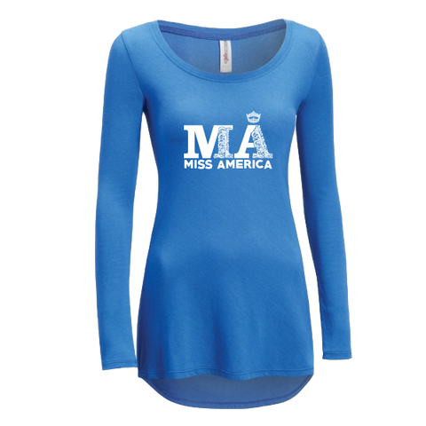 Fancy MA Long Sleeve Performance Tee