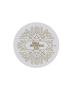 Art Deco Logo Popsocket White