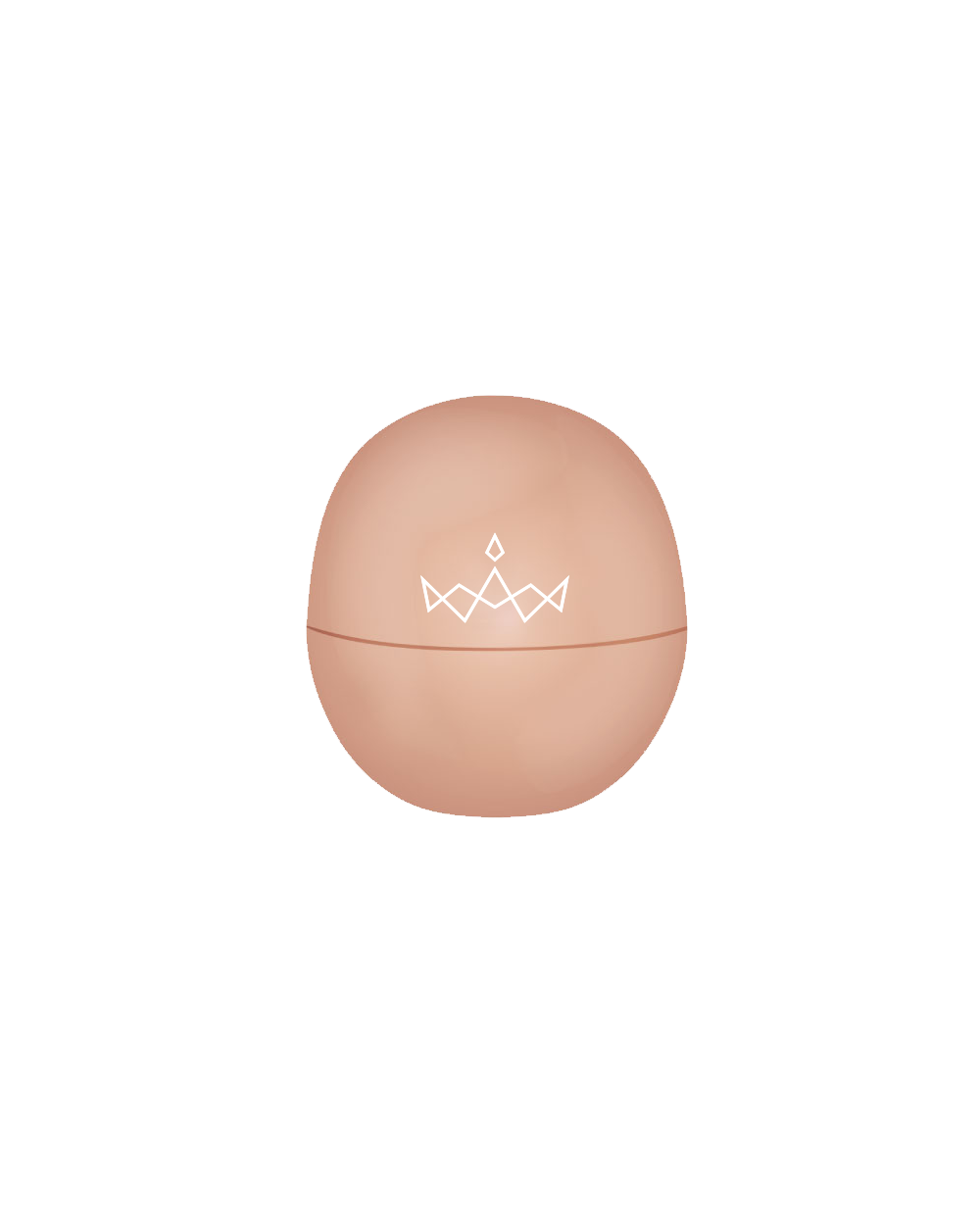 Miss America EOS Crown Lip Balm - Sparkling Ginger
